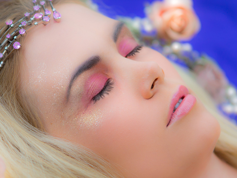 Sleeping Beauty Makeup